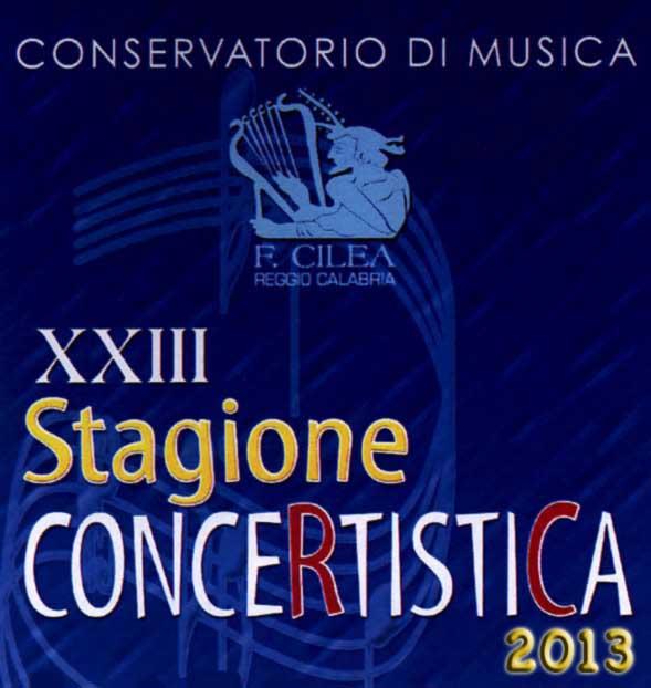 Logo XXIII Stagione concertistica 2013